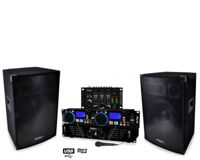 Pack Sono DJ-550 Amplificateur 2 x 240W + HP