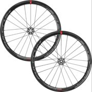 "Fulcrum Set de Roues en Carbone Speed 40 DB Disc Center Lock noir set de 28"" (avant 12x100 + arrière 12x142) SRAM XDR"