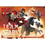 Papier Peint M Iron Man Team Marvel Intisse160x1115 Cm - Enfants
