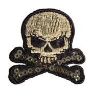 Patch Thermocollant Skull And Bones 4,2cm 1 Pièce - Rayher