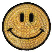 Patch Thermocollant Smile Ø5cm 1 Pièce - Rayher