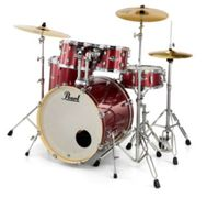 """PEARL DRUMS EXPORT STAGE 22"""""""""""""""" ROUGE CHERRY GLITTER"""