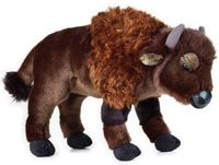 Peluche Bison 30 cm National Geographic 3 ans