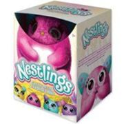 Peluche interactive Goliath Nestlings Rose Rose