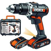 PERCEUSE SANS FIL 20V 2 bat. WORX