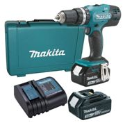Perceuse visseuse à percussion 18 V Li-Ion 3 Ah Ø 13 mm Makita