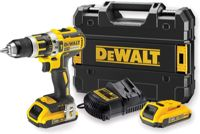 Perceuse Visseuse à Percussion DEWALT 18V XR 2Ah Li-Ion Brushless - DCD795D2