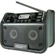 Perfect Pro - Radio de chantier 18W DAB+ FM radio RDS Bluetooth rechargeable - DAB+MATE