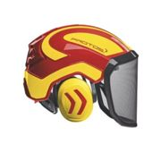 Pfanner - Casque forestier complet Protos Integral Forest Rouge 54/62