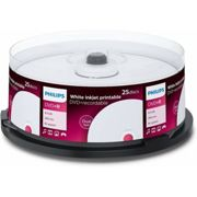 Philips DVD+R double couche imprimable 8.5 Go, 25 pièces en cake box (DR8I8B25F/00)