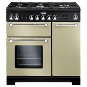 Piano de cuisson gaz falcon kitchener kch 90 dfcrc eu beige chrome