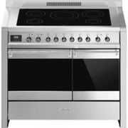 Piano de cuisson induction SMEG A2PYID-81 Opéra 100 cm Inox