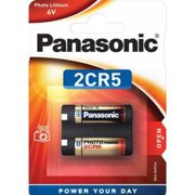 Pile lithium 2CR5 6V PANASONIC Photo Power Blister d'1 pile