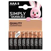 Pile DURACELL Simply AAA X8