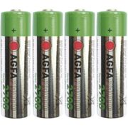 Pile rechargeable LR6 (AA) NiMH AgfaPhoto HR06 2300 mAh 1.2 V 4 pc(s) A37174