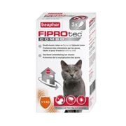 Pipettes Antiparasitaire Fiprotec Combo pour chats Fiprotec Combo