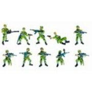 Soldats Commando Opération Jungle - Tubo De 10 Figurines
