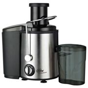 Presse-fruits à jus de fruits 350 watts presse-fruits en 2 cuves en acier inoxydable Elta PJ-450