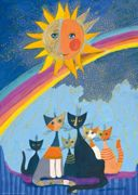 Puzzle 1000 Pièces Rosina Wachtmeister - Gold Rain