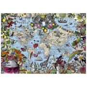 Puzzle 2000 Pièces Quirky World