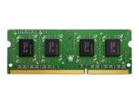 QNAP - DDR3 - 4 Go - SO DIMM 204 broches - 1600 MHz / PC3-12800 - mémoire sans tampon - non ECC