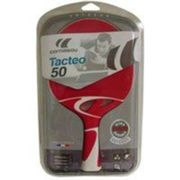 Raquette Ping Pong Tacteo T50 Rouge Cornilleau