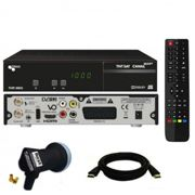 Récepteur satellite Triax THR 9900 HD + carte TNTSAT + HDMi + LNB Single Best HG101
