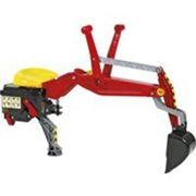 Rolly Toys Arrière Chargeur Backhoe rouge Rood