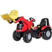 Rolly Toys escaliers tracteur frein à main RollyX-Trac Premium rouge Rood
