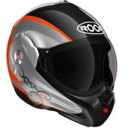 Roof Desmo Fluo Black Orange 3e Generation Noir S