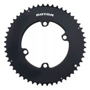 Rotor Aero Round Ring 110 Bcd 50t Outer Black