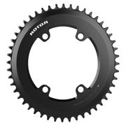 Rotor Plateau Aero Oval Q Ring 110 Bcd 52t Outer Black