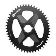 Rotor Plateau Q-rings Direct Mount Oval 42t Black