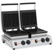 Royal Catering Gaufrier double - Gaufres belges - 2 x 1 500 W RC-WMDS01