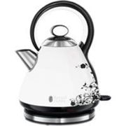 Bouilloire Russell Hobbs Russell hobbs 21963-70 bouilloire 1,7l legacy florale 2400w, ebullition rapide