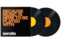 """Serato Scratch Vinyl Performance 2x12""""- Because Music is here"""