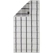 Serviette de Toilette Cawö Square Karo White (Lot de 3)