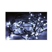 Silamp - Guirlande Solaire LED 20M 200LED IP44, 8 Modes - Câble Vert, Blanc Froid