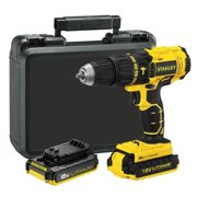 Perceuse visseuse à percussion brushless 18V (2x2AH) - STANLEY FATMAX - FMC627D2