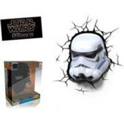 STAR WARS Veilleuse enfant Led 3D Light FX Stormtrooper 27 cm noir
