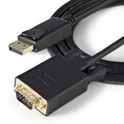 Startech Displayport To Vga Cable 91 Cm One Size Black