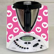 Stickers Thermomix TM 31 Coeur en folie 5