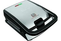 SW853D12 Tefal Snack collection SW853D12 - Croque-gaufres - 700 Watt - inox/noir