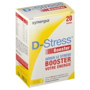 Synergia® D-Stress booster sachet(s) 20 pc(s)