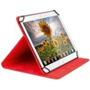 Tablet folio case 10.1 red sweex