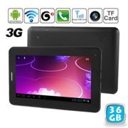 Tablette tactile 7 pouces 3g 2g android jelly bean gps gsm phablet 1.2ghz 36 go - YONIS