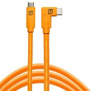 TETHER TOOLS Pro Câble USB-C vers USB-C Coudé 4.6M Orange