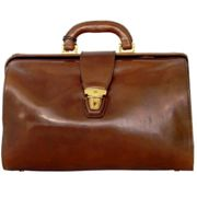 The Bridge Today Business sac médecin - Sacoche docteur cuir 37 cm marrone (06831001-14)