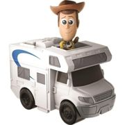 Toy Story 4 - Mini-Figurine Woody Et Son Camping-Car