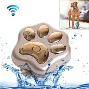 Traceur Animaux Or Pour Pet Imperméable Ip66 Anti Perte Wifi Gsm Smart Gps Tracker Animal De Compagnie